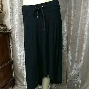 ATHLETA Knit Asymmetrical Skirt